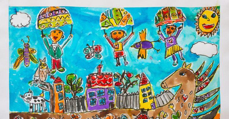 RADOST TVOŘIT - Mezinárodní výtvarná soutěž dětí a mládeže se zrakovým postižením