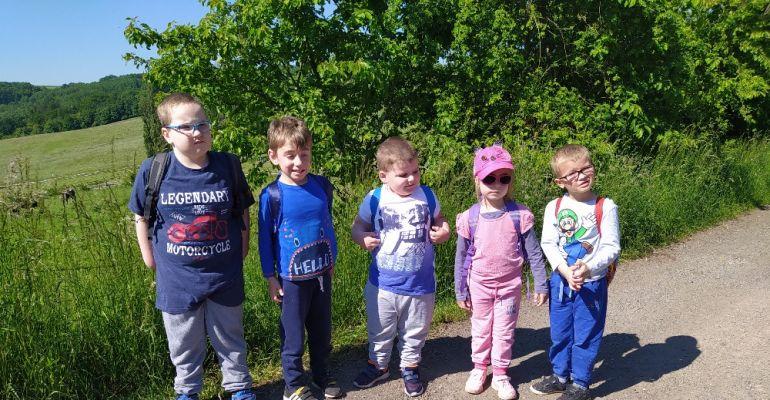 MŠ, třída Sovičky - výlet farma Žlutava